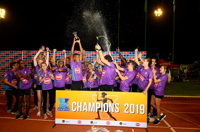 Varsity Cup (Athletics) Champions